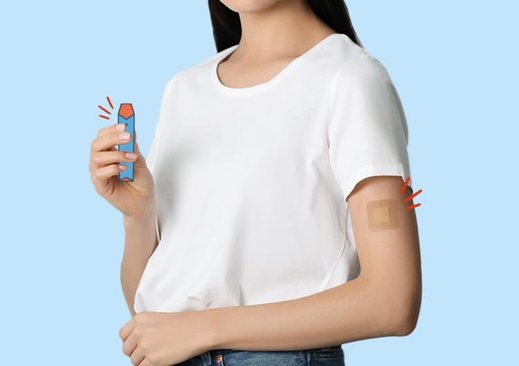 patch-et-cigarette-électronique